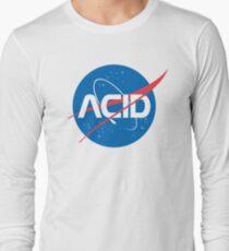 Acid vs Nasa Long Sleeve T-Shirt