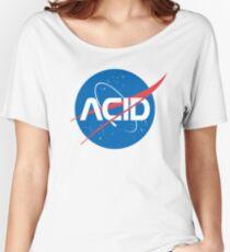 Acid vs Nasa Relaxed Fit T-Shirt