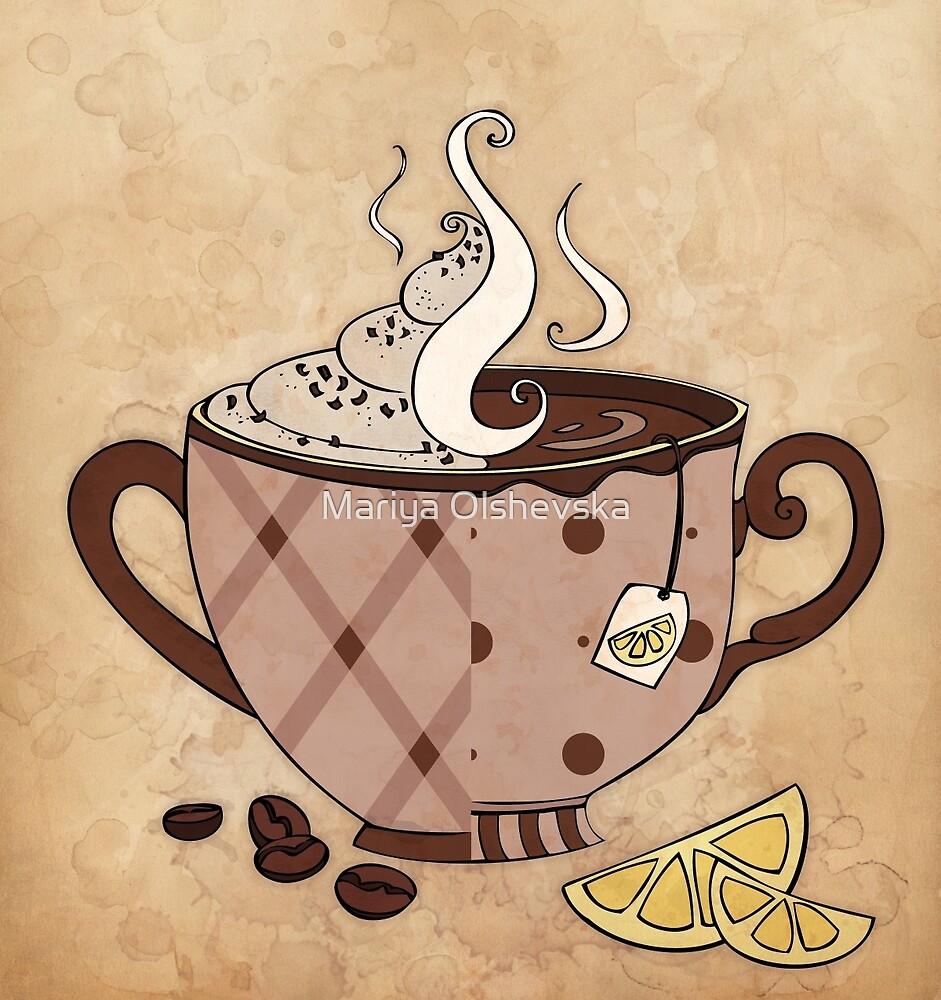 Coffee or Tea? by Mariya Olshevska