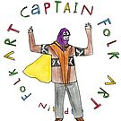Captain Folk Art by dustpiggies