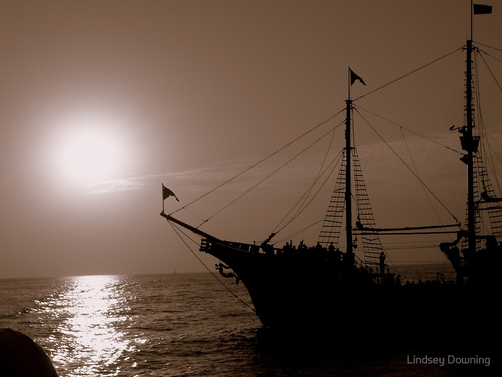 Pirate Ship by Lindsey Downing