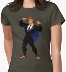 Hercules in a Suit Womens Fitted T-Shirt