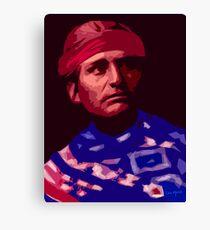Navaho Freedom Fighter Canvas Print
