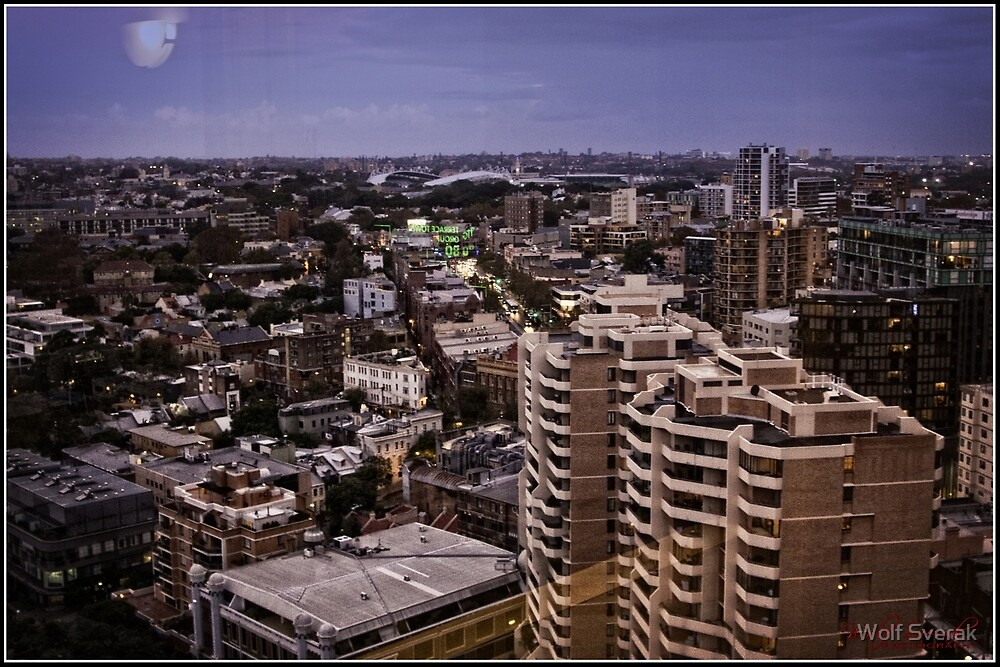 City Scape Sydney/NSW/Australia by Wolf Sverak