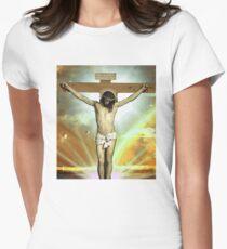 Skam - Isak, Even or Eskild Jesus T-Shirt Womens Fitted T-Shirt