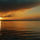 Old Jetty at Sunset by shaken