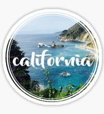 california - big sur Sticker