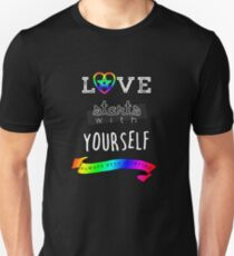 Love Starts With Yourself Unisex T-Shirt