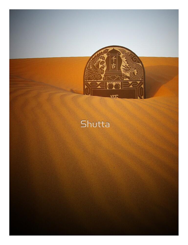 Grave Stone by Shutta