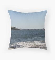 View of Bare Island, from Congwong Beach Throw Pillow