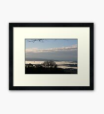 Culraven in the morning Framed Print