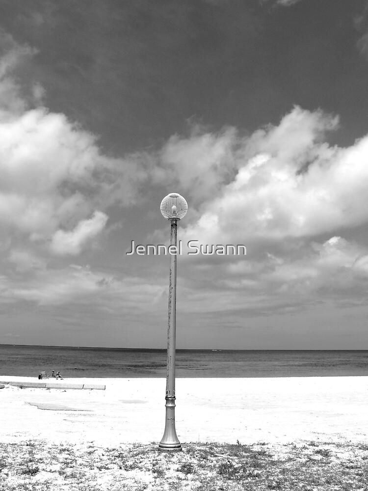 Lamp-post by Jennel Swann