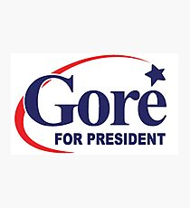 Al Gore for President Photographic Print
