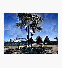Picnic at Bennelong Point Photographic Print