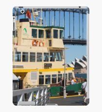 Sydney ferry,harbour bridge and Opera House Australia  iPad Case/Skin