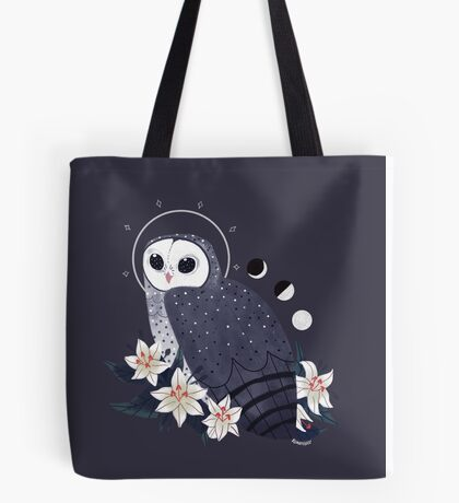 Familiar - Sooty Owl Tote Bag