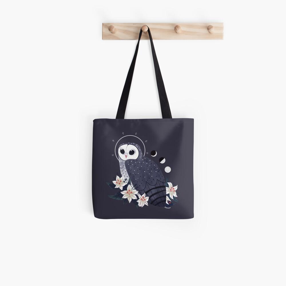Vertraut - Rußige Eule Stofftasche