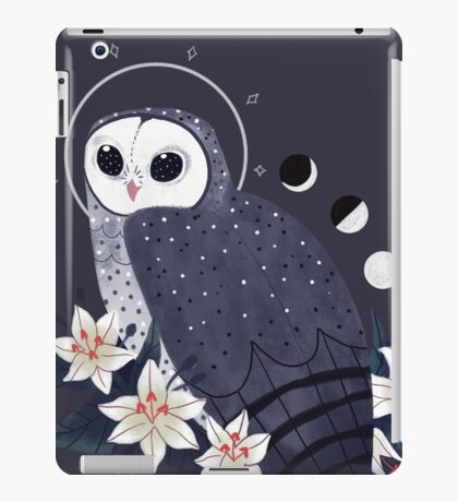 Familiar - Sooty Owl iPad Case/Skin