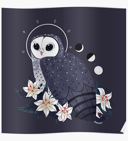 Familiar - Sooty Owl Poster