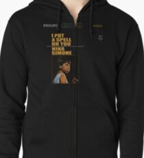 I Put a Spell On You Zipped Hoodie