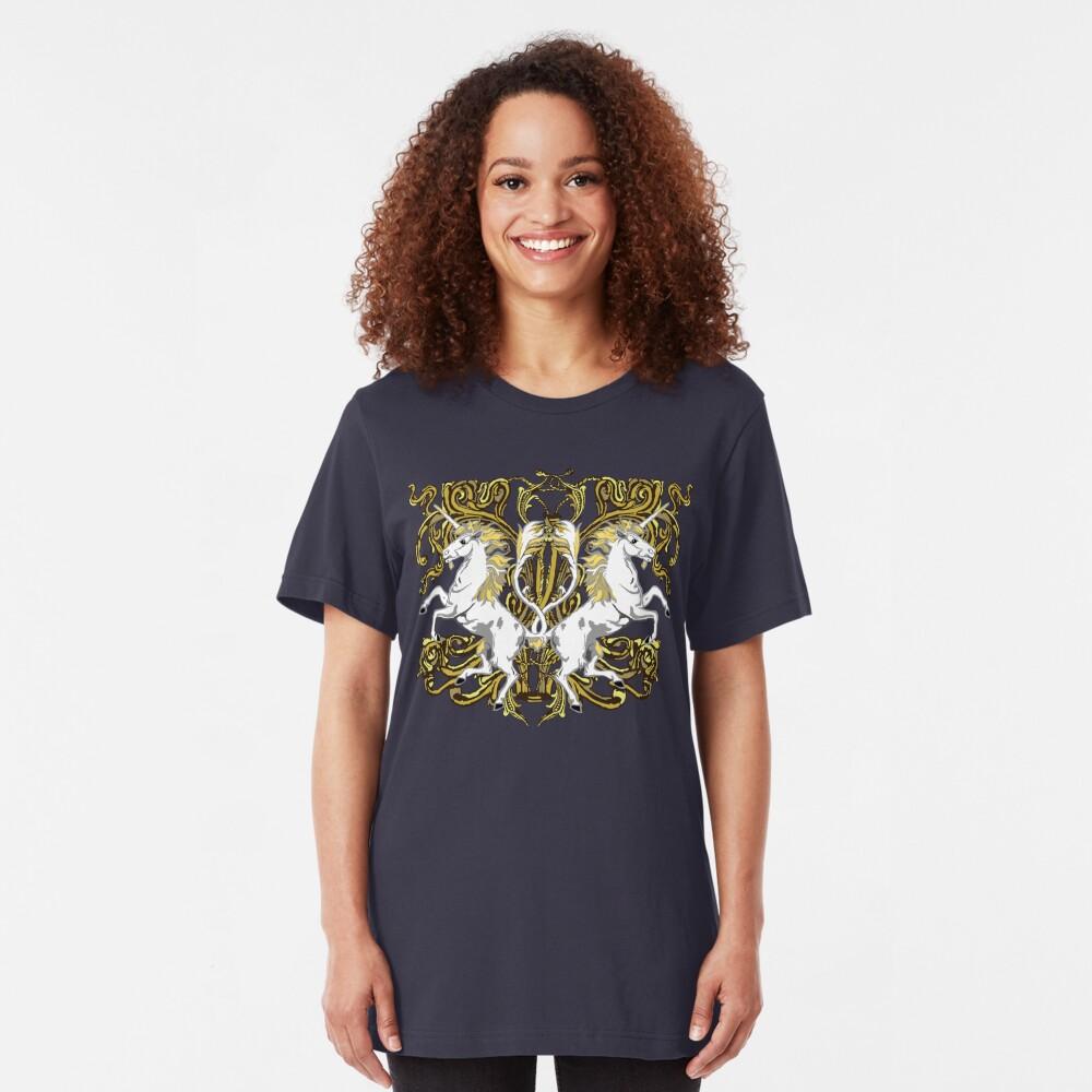 Imperial Unicorns II Slim Fit T-Shirt