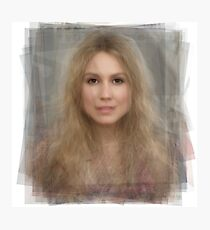 Sarah Carter Portrait Photographic Print