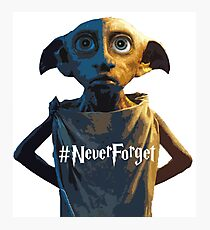 Dobby #NeverForget Photographic Print