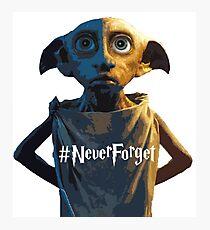 Dobby #NeverForget Photographic Print