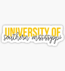 University of Southern Mississippi - Style 13 Sticker