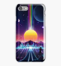 Neon Sunrise iPhone Case/Skin