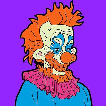 Killer Klown by cafebunny