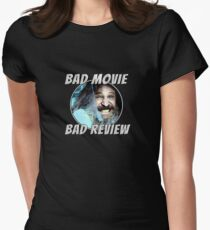Bad Movie - Bad Review, Official T-Shirt Womens Fitted T-Shirt