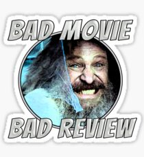 Bad Movie - Bad Review, Official T-Shirt Sticker