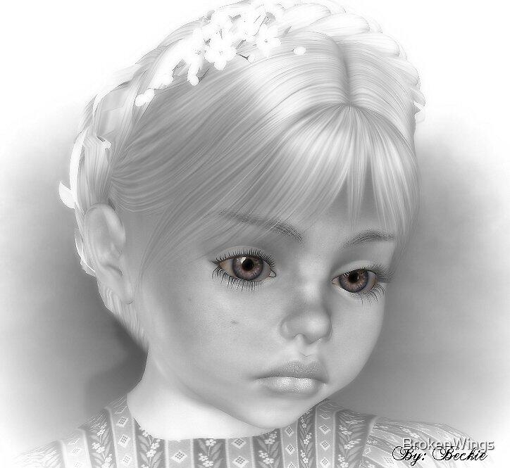 Sad Eyes by BrokenWings