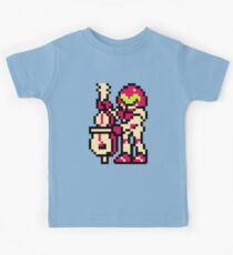 Metroid Musician from Tetris Kids Tee