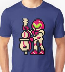 Metroid Musician from Tetris T-Shirt