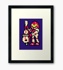 Metroid Musician from Tetris Framed Print