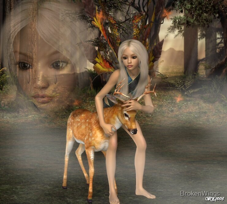 Tears of an Angel by BrokenWings