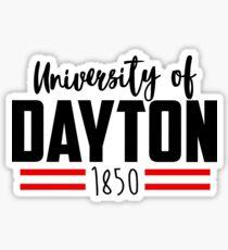 University of Dayton, Ohio Sticker