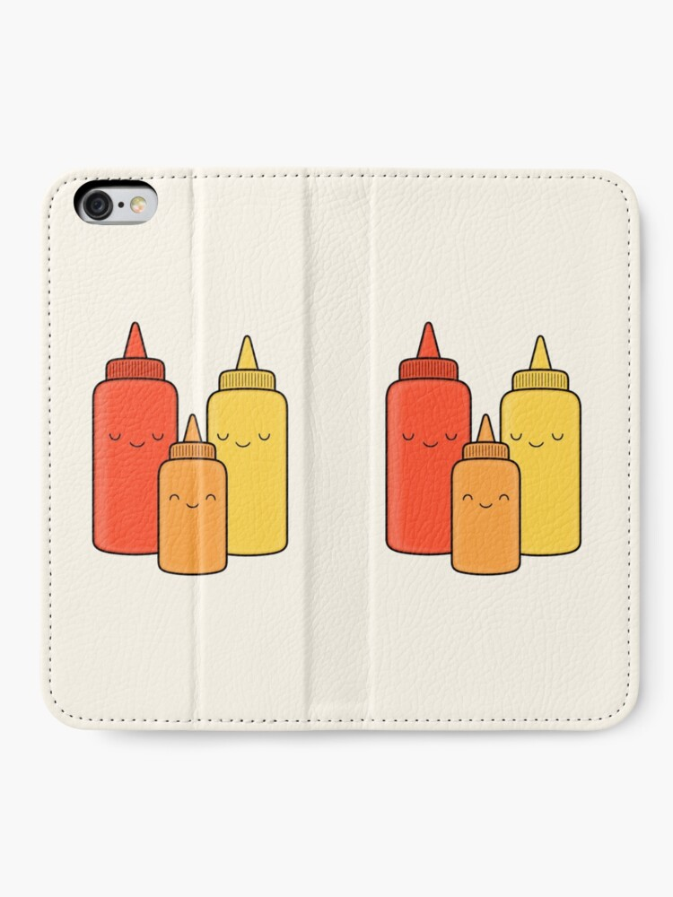 Alternate view of Ketchup & Mustard Baby iPhone Wallet