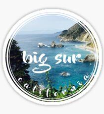 Big Sur California Sticker
