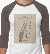 1839 Colt Firearm Patent Men's Baseball ¾ T-Shirt