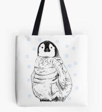 Emperor Penguin Chick Tote Bag