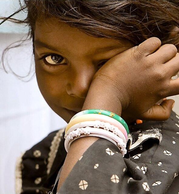 Madurai girl by Anthony Begovic