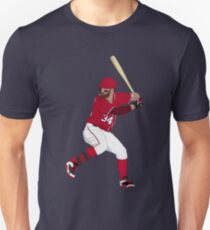 Bryce Harper Batting Art Unisex T-Shirt