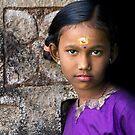 Tamil girl by Anthony Begovic
