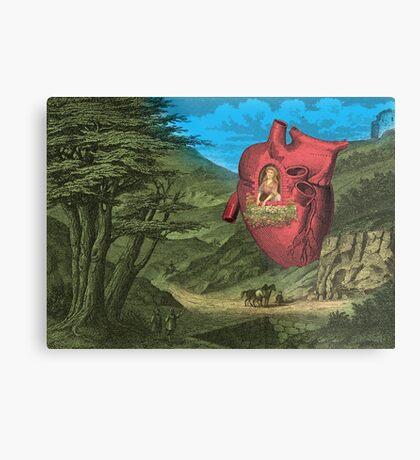 Heart's Ease Traveler's Rest Metal Print