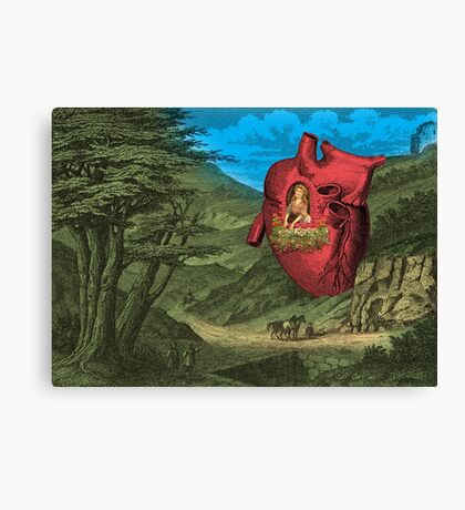 Heart's Ease Traveler's Rest Canvas Print