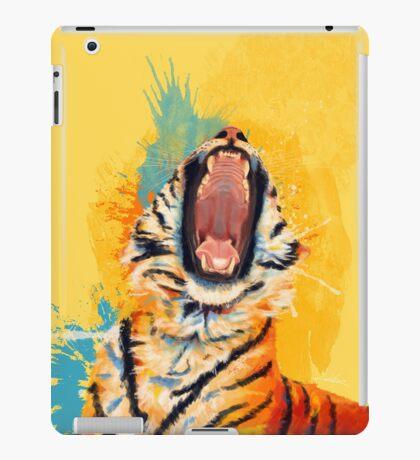 Wild Yawn - Tiger portrait iPad Case/Skin
