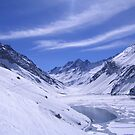 Andean Lake by Julio Vasconcellos